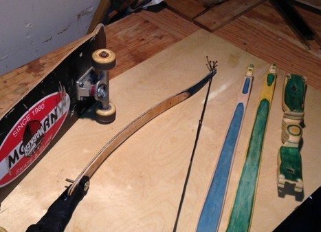 The Skatebow is when a Skateboard becomes a Bow | iBooks Author Development | Scoop.it