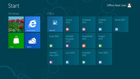 Office 2013 : tour d'horizon des nouveautés | GTSUP - L'informatique facile | Scoop.it