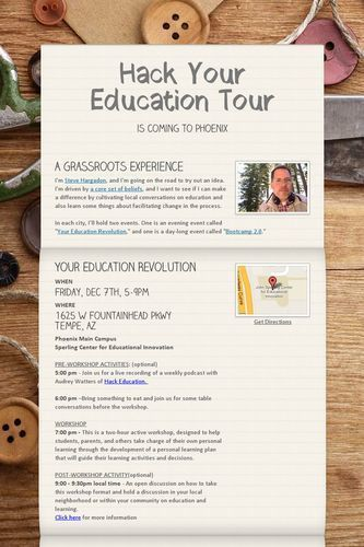 Hack Your Education Tour | Teacher Tips & Tools | Scoop.it