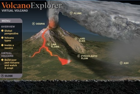 Savoir plus sur les volcans grâce à VirtualVolcano | Time to Learn | Scoop.it