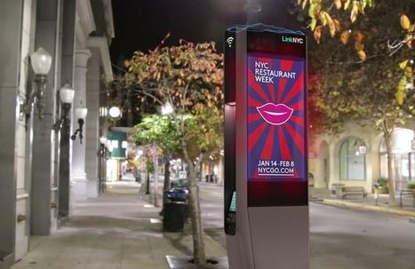 LinkNYC : des bornes WiFi gratuit à très haut débit | Smart Muni Cell - Smart Metro Cell - Municipal Wireless | Scoop.it