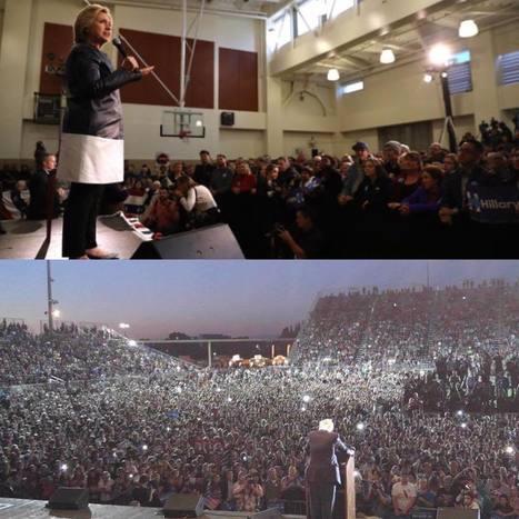 Hillary's Oakland Rally VS Bernie's Sacramento Rally | IWTT Italian World Touch Trades     ... Consulenze Indipendenti | Scoop.it