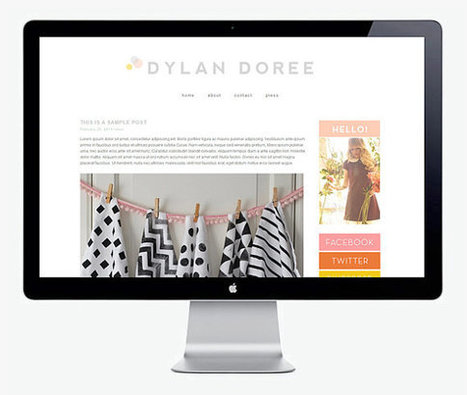 Doree - Blogger Template | Blogger themes | Scoop.it