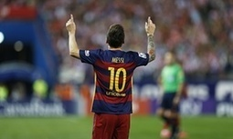 Lionel Messi's remarkable Barcelona goalscoring record in full - The Guardian   AC Affairs   Scoop.it