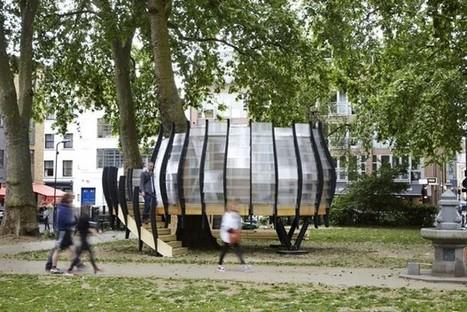 A Londres, un espace de co-working dans un parc ! | Nouveaux lieux, nouveaux apprentissages | Scoop.it