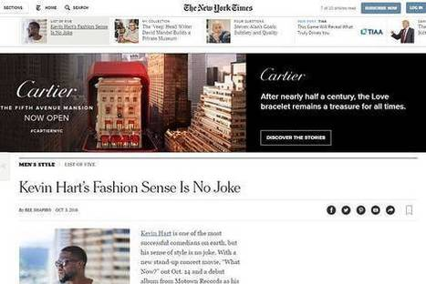 New York Times Shuns Banner Ads in Favor of Proprietary Ad Format | Transmedia Storytelling meets Tourism | Scoop.it