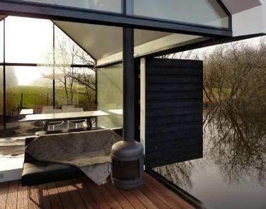 Cabane flottante sur les lacs de Loosdrecht par 2by4-architects | 360° design | Scoop.it
