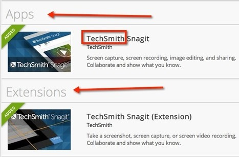 Students and Teachers Using Snagit Chrome Extension ~ Teacher Tech ~ by Alice Keeler | Going Digital | Scoop.it