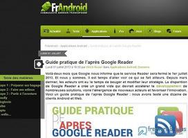 Le site du jour : Guide pratique de l'après Google Reader | News du Net... | Scoop.it