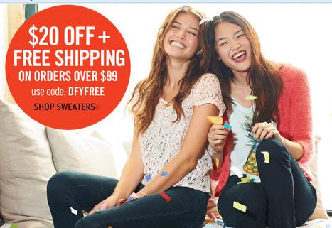 dELiAs coupon 20% | deliasFAshions | Scoop.it