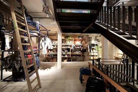 New Levis Store in Amsterdam a Model of Reuse and Recycled Construction | Sustainable Futures | Scoop.it
