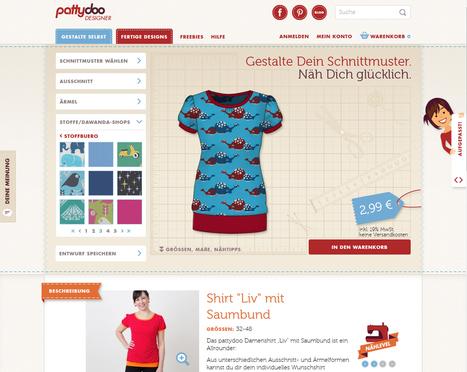 Der pattydoo Designer ist online!   Nähen   Scoop.it