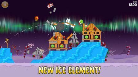 Angry Birds Seasons, mise à jour avec les niveaux Winter Wonderham | INFORMATIQUE 2015 | Scoop.it