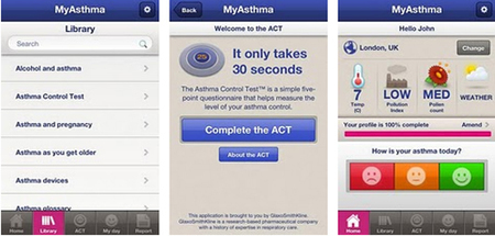 GSK sets its sights high for MyAsthma app | Digitized Health | Scoop.it