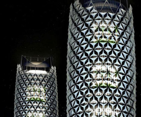 Computer-Controlled Facade / Al Bahar Towers, Abu Dhabi Sinbadesign | ARCHIresource | Scoop.it