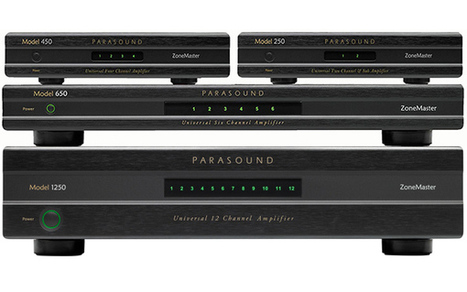 Le plein de canaux d'amplification pour le multiroom chez Parasound | Multiroom audio & video | Scoop.it