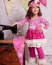 Giggle Moon Raspberry Truffle Tutu Dress with Leggings - Fall 2013 Preview | LollipopMoon | Scoop.it