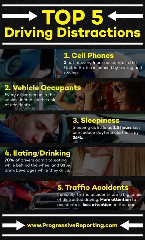 Top Driving Distractions | Transport & Logistics | Scoop.it