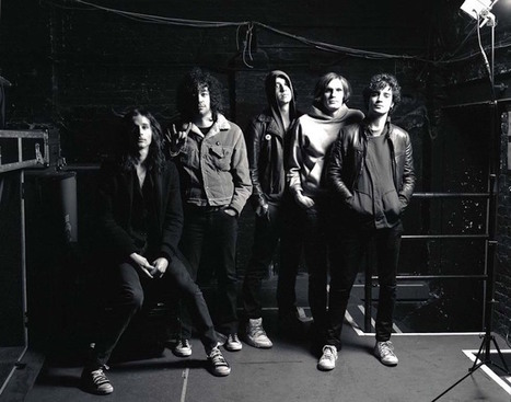 The Strokes, New York City, and the Photographer Who Was There for It All   SongsSmiths   Scoop.it
