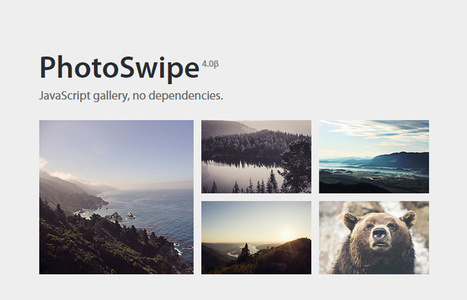 PhotoSwipe JavaScript Image Gallery Inspired by iOS | SPIP - cms, javascripts et copyleft | Scoop.it