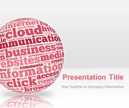 Pink Sphere Internet PowerPoint Presentation | shilpa cloud | Scoop.it