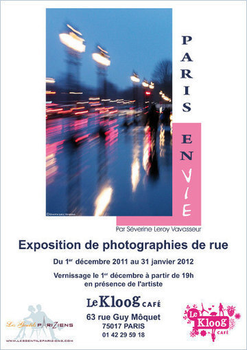 "Exposition de photographies de rue ""Paris en Vie"" 