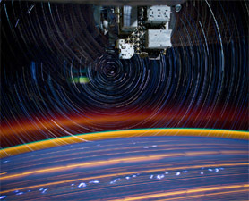 Psychedelic Star Trails and City Lights From Orbit: Big Pic : Discovery News | All Things Photography | Scoop.it