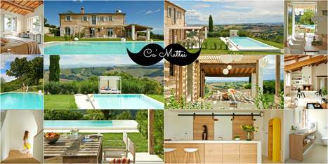 Best Le Marche Accommodations: Ca' Mattei, San Lorenzo in Campo | Le Marche Properties and Accommodation | Scoop.it