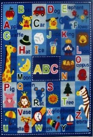 Fun Rugs Letters & Names FT-95 | Traditional Area Rugs | Scoop.it
