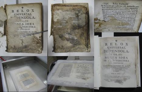 Trabajos de Conservación y Restauración en la Biblioteca ... | DIRECTORIOS Y RESTAURACIÓN DE DOCUMENTOS | Scoop.it