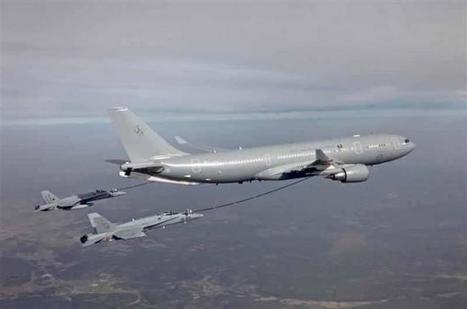 Australia orders Airbus A330 MRTT airborne refueling tankers | Aerospace industry watch - Paris Air Show | Scoop.it