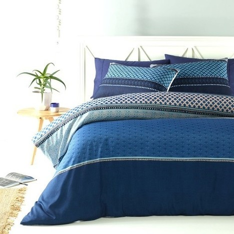 Avant Quilt Cover Set by Big Sleep - Manchester House | Soft Furnishings | Scoop.it