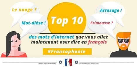 Top 10 des mots d'internet que vous allez oser dire en français | Ressources pour la Technologie au College | Scoop.it