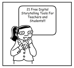 Free Digital Storytelling Tools For Teachers and Students - eLearning Industry | @LLZ | Flipped Classroom, MOOC & OER | Scoop.it
