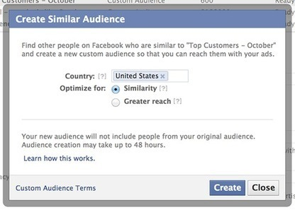 Facebook releases new targeting tool for marketers | Digital Love | Scoop.it