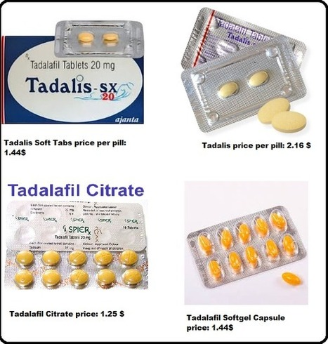Buy Tadalafil Citrate Online | Health | Scoop.it