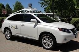 Google prépare le terrain pour ses voitures sans conducteur   Entreprise, innovations et réseaux sociaux   Scoop.it