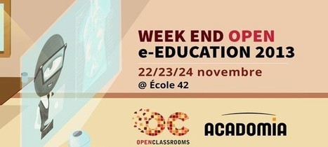 Week end Open e-Education 2013 | Experience Transmedia | Transmedia news… | Experience Transmedia | Scoop.it