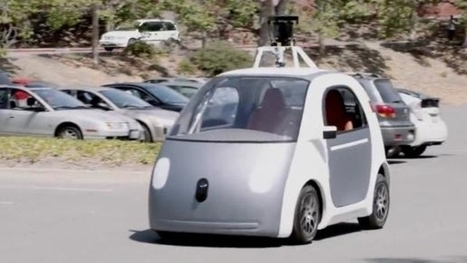 Google dévoile sa nouvelle voiture sans conducteur | High-Tech | Scoop.it
