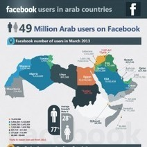 Facebook Users in Arab World 2013 | Visual.ly | SM | Scoop.it