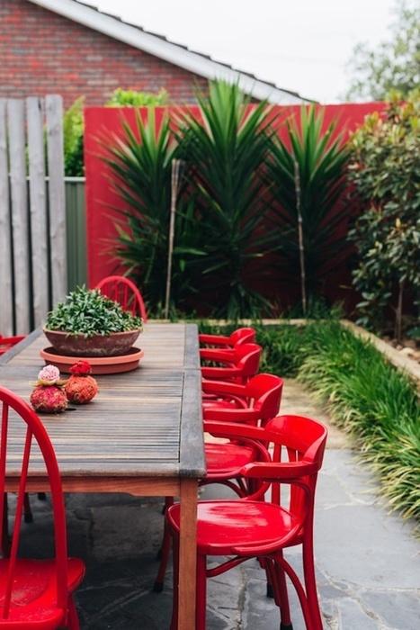 UN JARDÍN CON INTERESANTES PLANTEAMIENTOS | NIU. Interiors & homes | Scoop.it