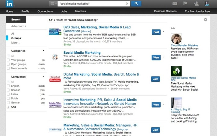 LinkedIn Groups: A quick primer for small businesses   Business in a Social Media World   Scoop.it