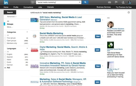 LinkedIn Groups: A quick primer for small businesses | Business in a Social Media World | Scoop.it