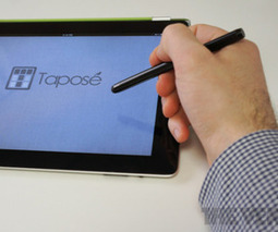 Taposé: bringing Microsoft's Courier to the iPad | M-learning, E-Learning, and Technical Communications | Scoop.it