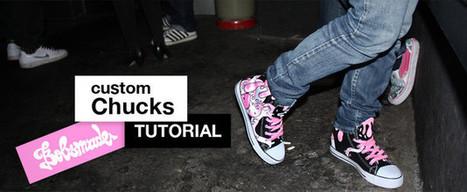 Customize Chucks - art & custom clothing   Custom shoes design   Scoop.it