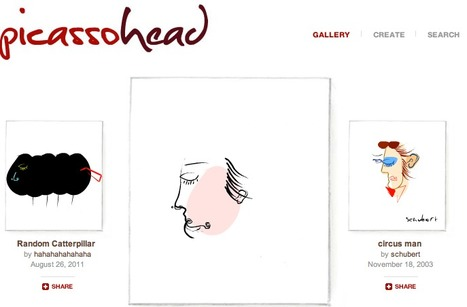 Gallery - Picassohead | Digital Delights - Avatars, Virtual Worlds, Gamification | Scoop.it