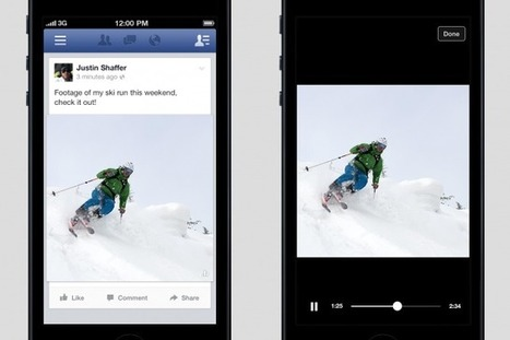 In Prelude to Ads, Facebook Tests Video Posts That Play Automatically | Mobile & Technology | Scoop.it