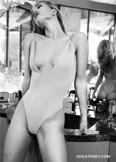 Rosie Huntington-Whiteley cover shoot The Violet Files - Wet Hot Summer - A Beauty Feature | As I travel | Scoop.it