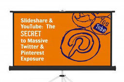 Slideshare & YouTube: The Secret to Massive Twitter & Pinterest Exposure | Socially Sorted | Great Social Media Articles | Scoop.it