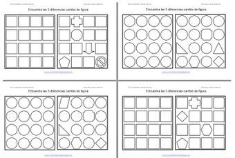 Encuentra las diferencias cambio de forma nivel medio | Mathink | Scoop.it